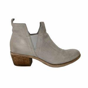 Miz Mooz Leather Grey Ankle Boots 40